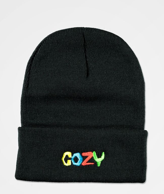 Cozy Boys Black Beanie