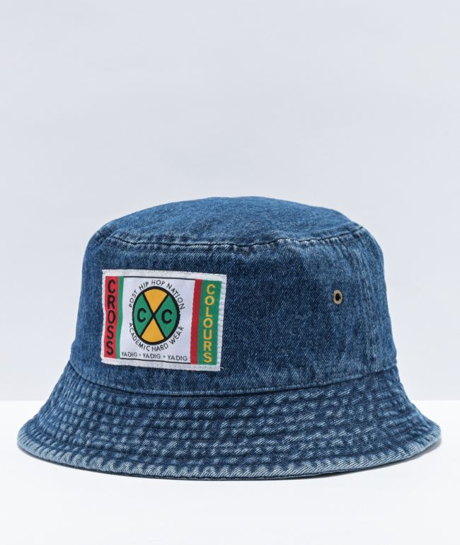Cross Colours Denim Bucket Hat