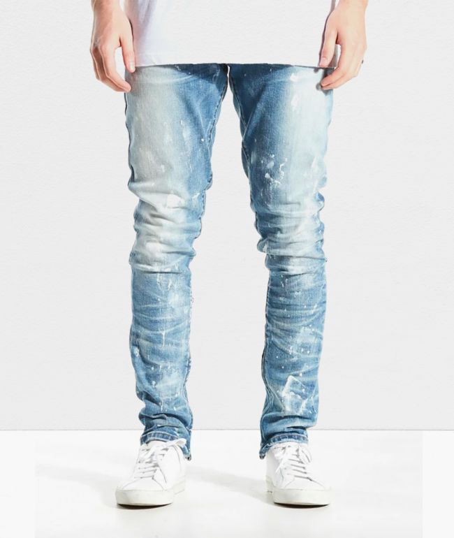 Crysp Pacific Vintage Stone Skinny Jeans