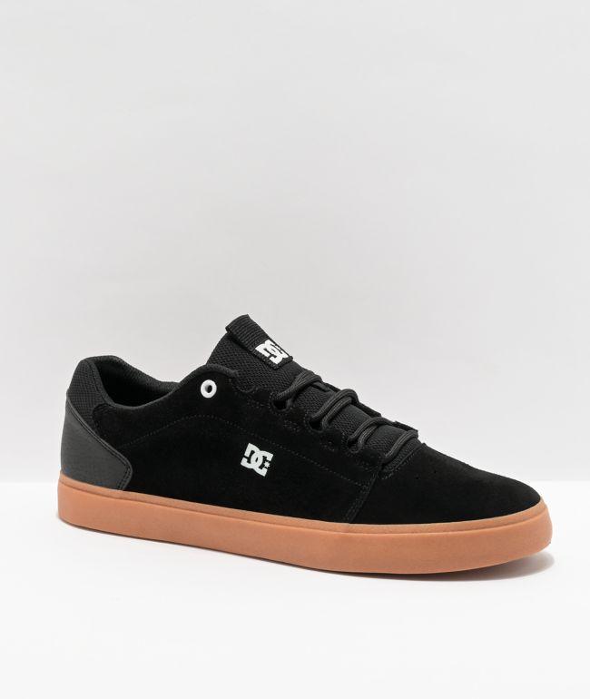 DC Hyde Black & Gum Skate Shoes