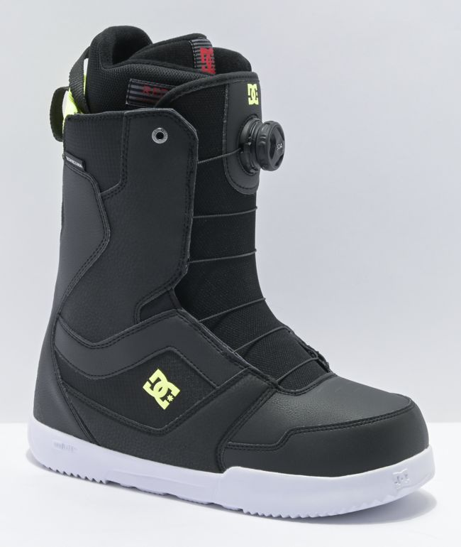 DC Scout Black Snowboard Boots 2021