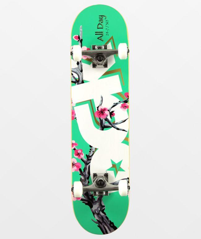 """DGK Blossom 7.75"""" Skateboard Complete"""