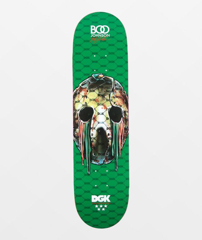 """DGK Boo Dripped 8.1"""" Skateboard Deck"""