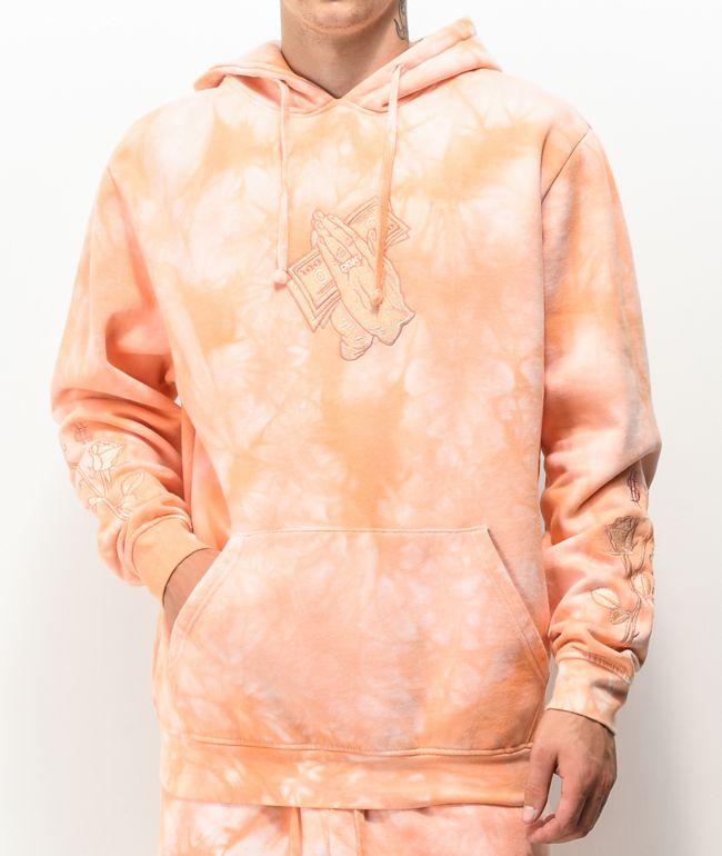 DGK Eternal Peach Tie Dye Hoodie