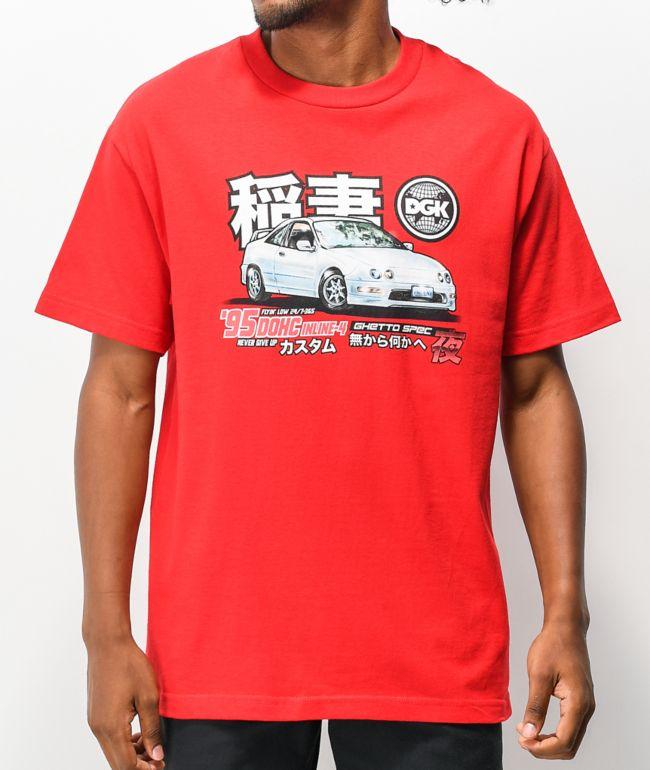 DGK Ghetto Spec Red T-Shirt
