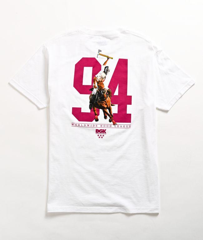DGK Hood League White T-Shirt