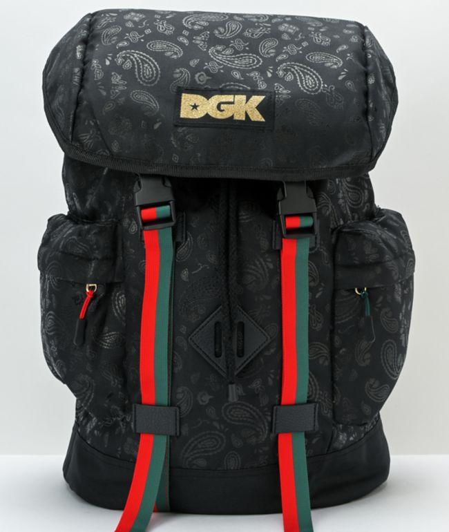 DGK Ruthless Black Backpack