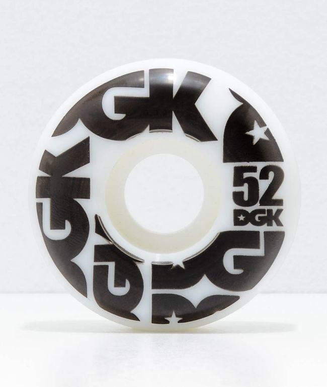 DGK Street Formula 52mm 101a ruedas de skate