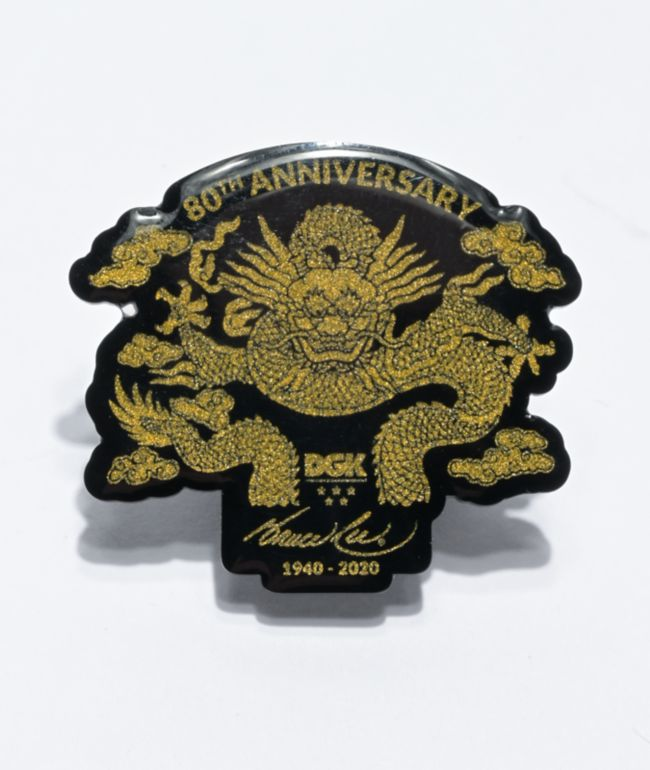 DGK x Bruce Lee Anniversary Pin