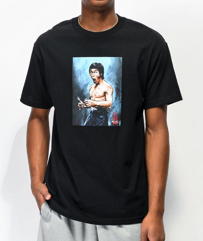 DGK x Bruce Lee Focused Black T-Shirt