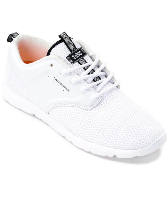 DVS Premier 2.0 White Mesh Shoes | Zumiez