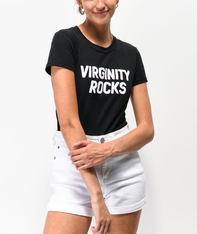 Danny Duncan Virginity Rocks Black & White T-Shirt