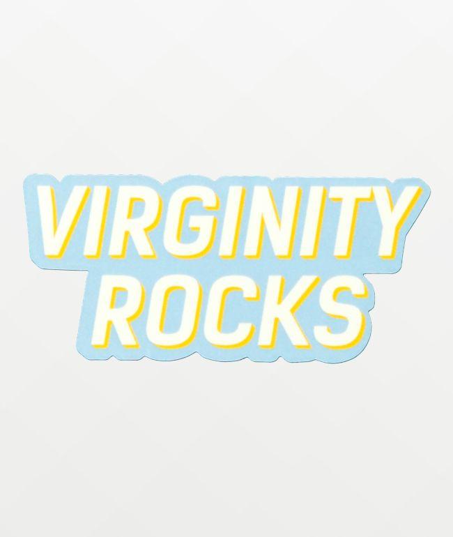 Danny Duncan Virginity Rocks Light Blue Sticker