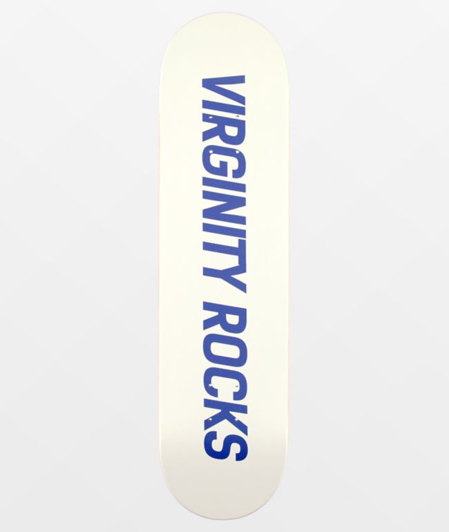 "Danny Duncan Virginity Rocks White & Blue 8.0"" Skateboard Deck"
