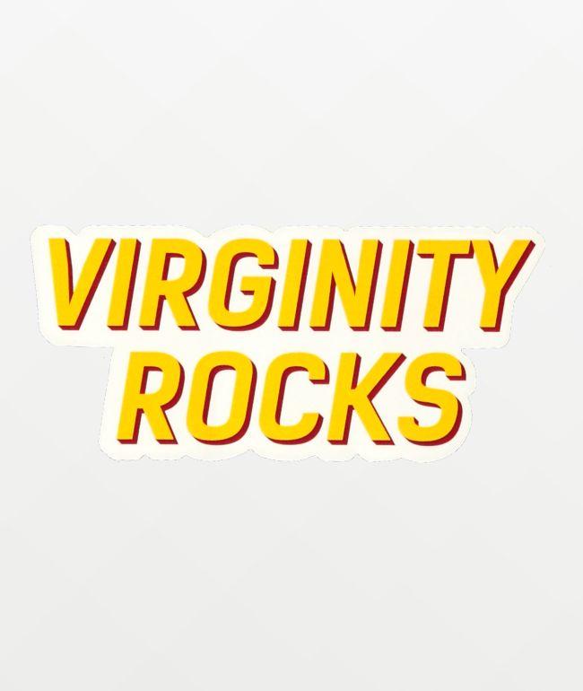 Danny Duncan Virginity Rocks White Sticker