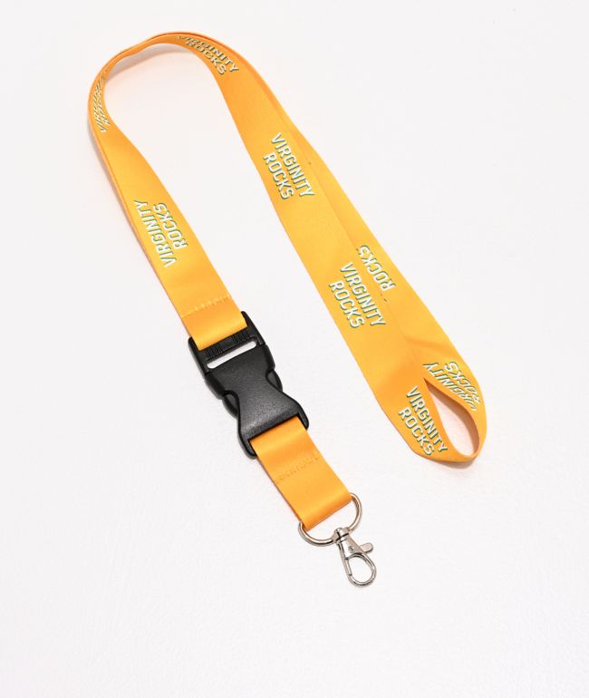 Danny Duncan Virginity Rocks Yellow Lanyard