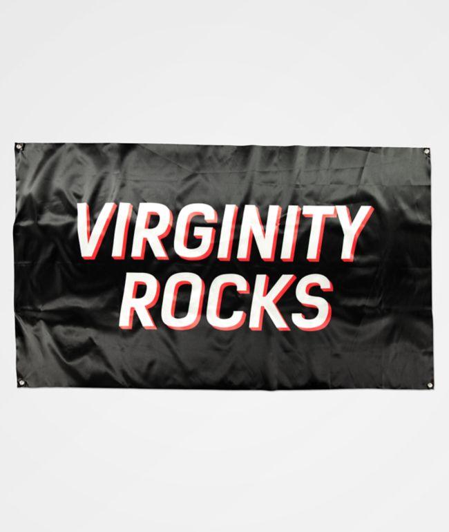 Danny Duncan Virginity Rocks bandera negra