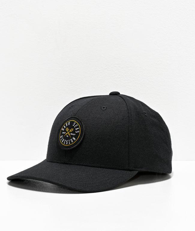 Dark Seas Jammer Black Snapback Hat