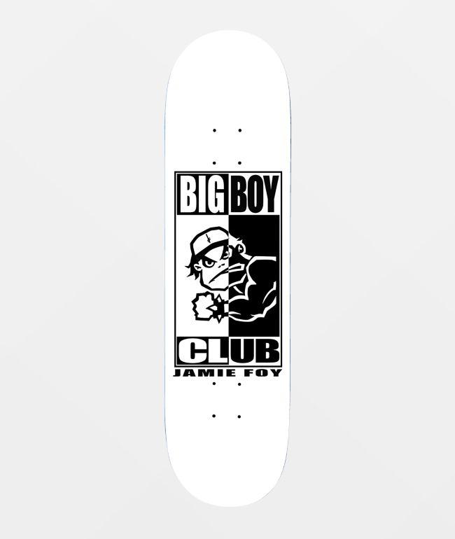 """Deathwish Foy Big Boy Club 8.0"""" Skateboard Deck"""