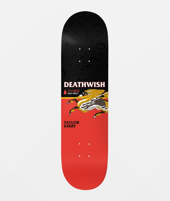 "Deathwish Kirby The Messenger 8.25"" Skateboard Deck"