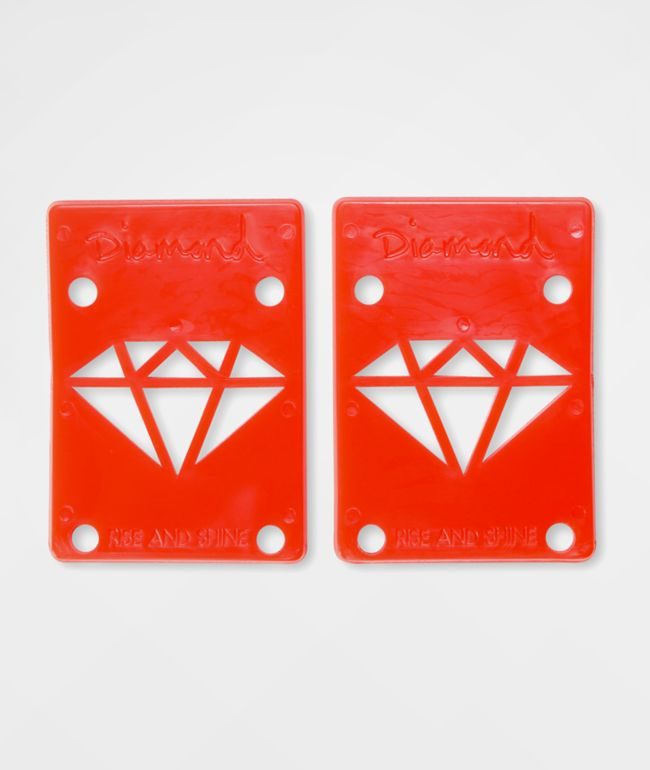 Diamond Supply Co. Rise & Shine Red Riser Pads