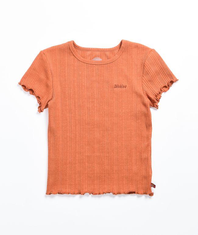 Dickies Auburn Ribbed Baby T-Shirt