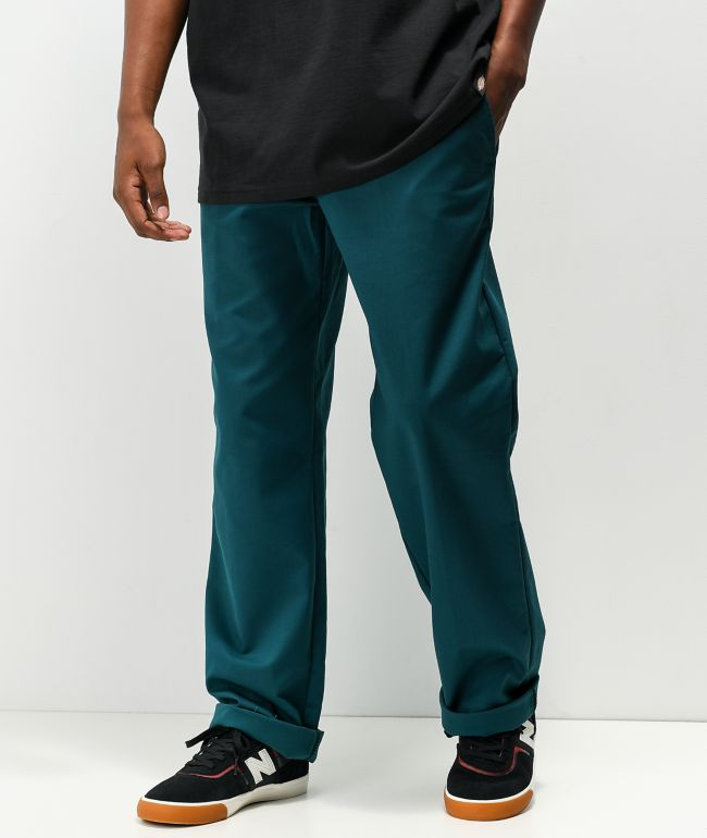 Dickies Foy Loose Green Twill Skate Pants