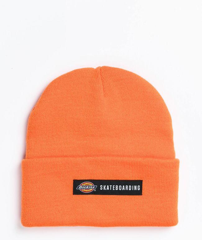 Dickies Skate Orange Beanie