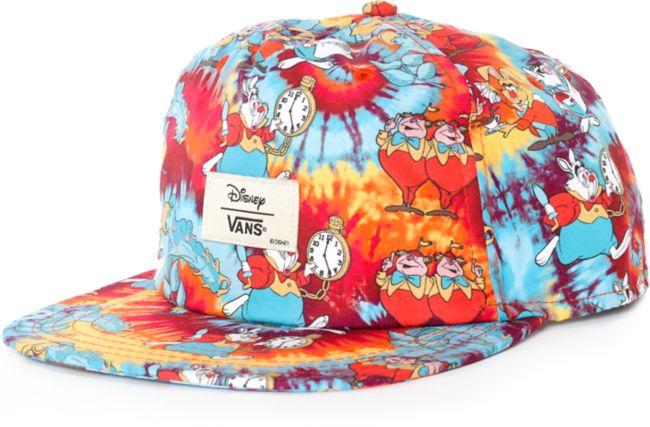 Disney x Vans Wonderland Snapback Hat   Zumiez