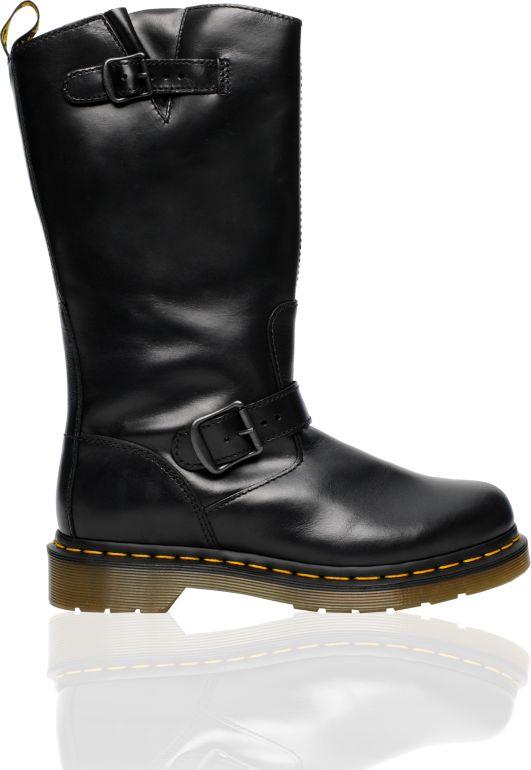 Dr. Martens Case Black Engineer Boot