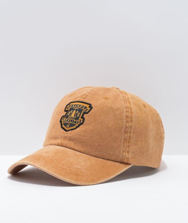 Dravus Escape Tobacco Strapback Hat