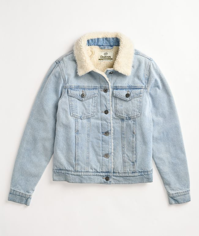 Dravus Gemma Sherpa Denim Jacket