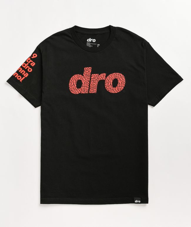 Dro Thick Skin Black T-Shirt