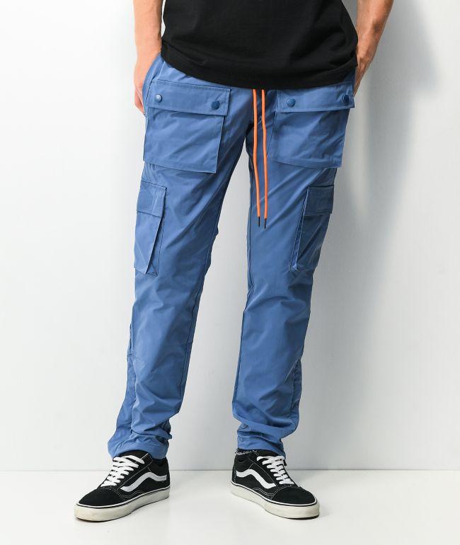 EPTM Snap Sky Blue Cargo Pants