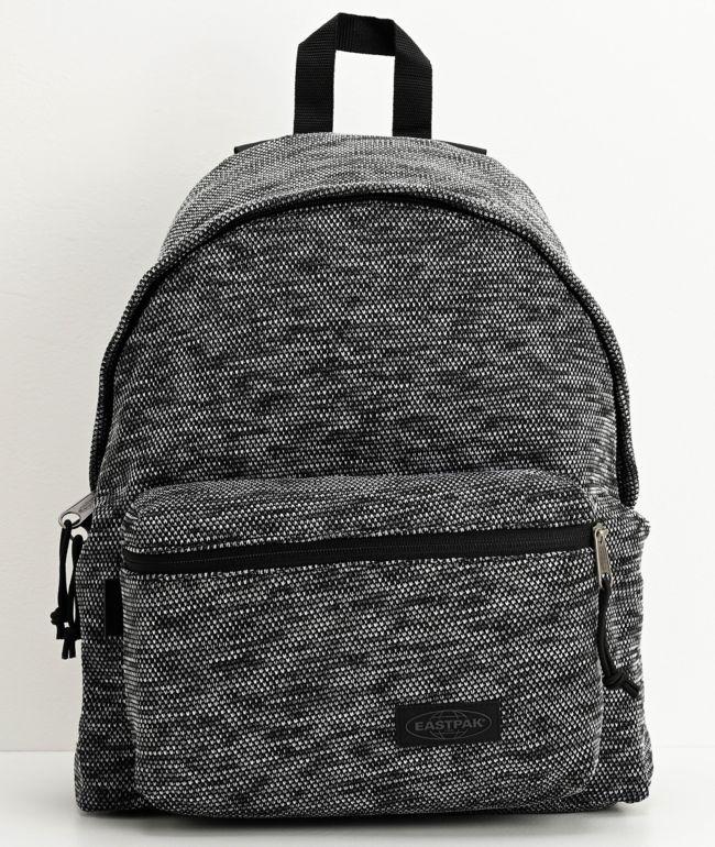 Eastpak Padded Pak'r Knit Black Backpack
