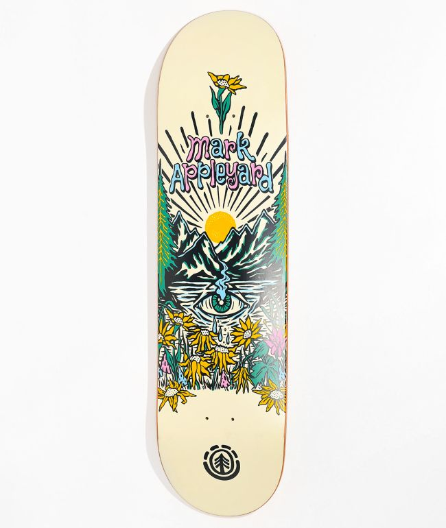 "Element Appleyard Super Natural 8.25"" Skateboard Deck"
