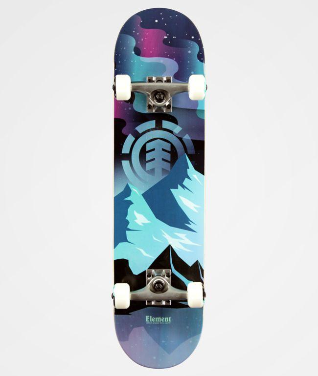 """Element Aurora 7.75"""" Skateboard Complete"""