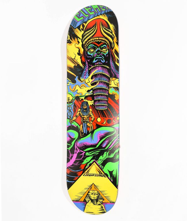 "Element Escape From The Future 8.0"" Skateboard Deck"