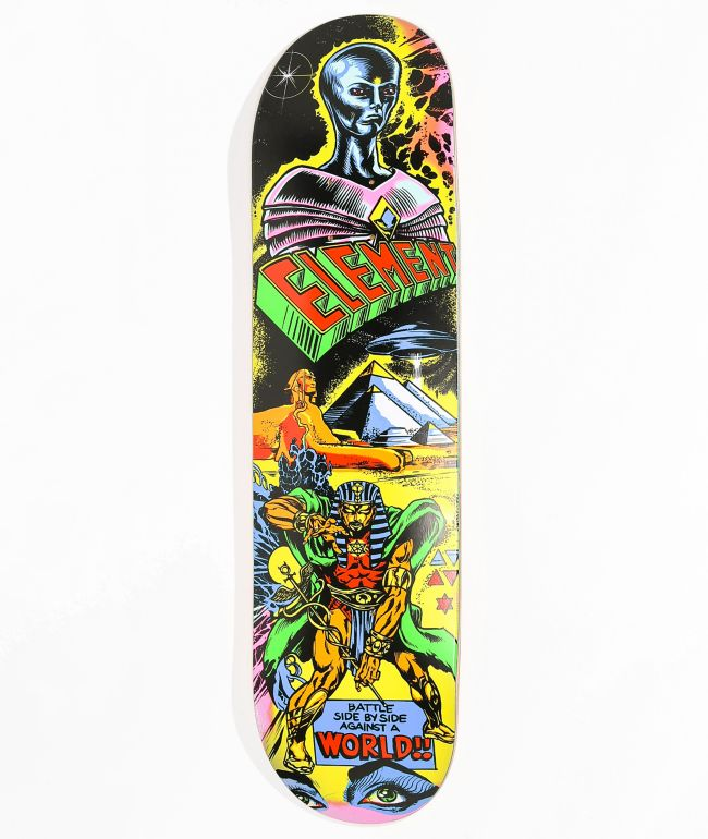 """Element Escape From The World 8.25"""" Skateboard Deck"""