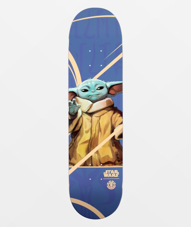 "Element x Star Wars Mandalorian Child 8.0"" Skateboard Deck"