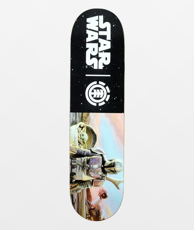 "Element x Star Wars Mandalorian Hunter & Prey 8.0"" Skateboard Deck"
