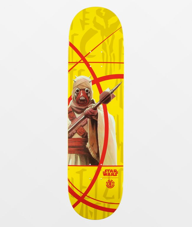 "Element x Star Wars Mandalorian Tusken Raider 8.0"" Skateboard Deck"