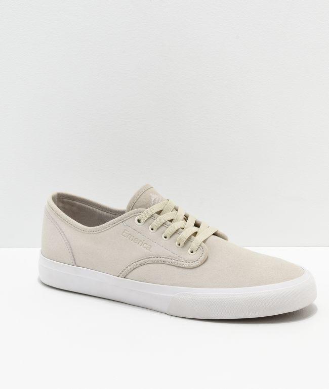 Emerica Wino Standard White Skate Shoes