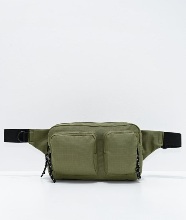 Empyre Anouk Olive Green Crossbody Bag