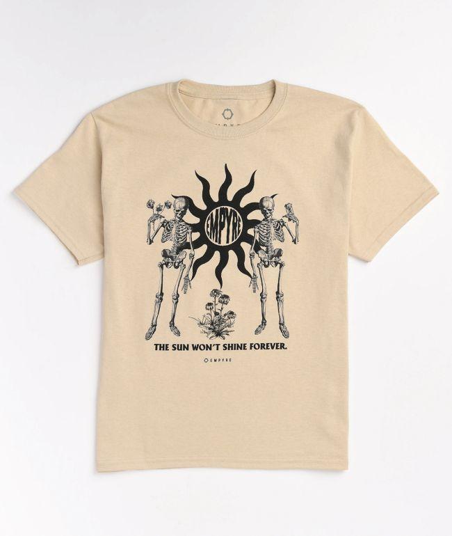 Empyre Boys Shine Forever Cream T-Shirt