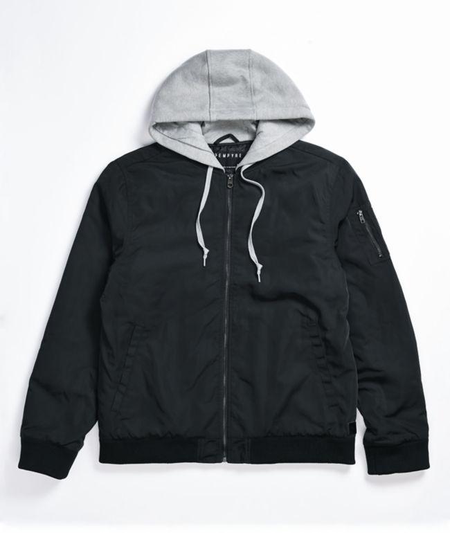 Empyre Distortion chaqueta bomber negra
