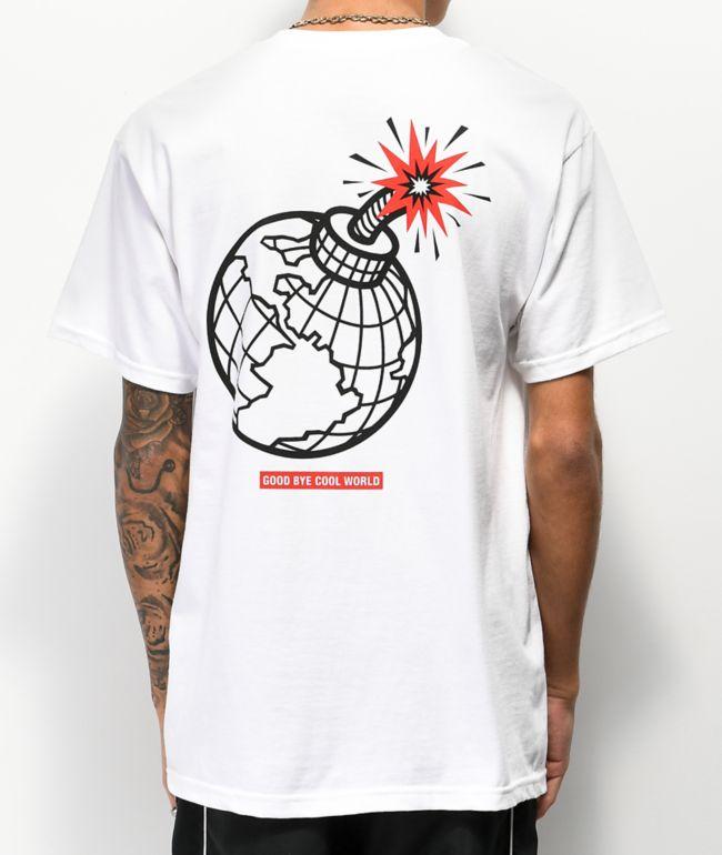 Empyre Goodbye Cool World White T-Shirt