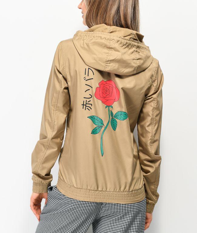 Empyre Keana Rose Tan Windbreaker Jacket