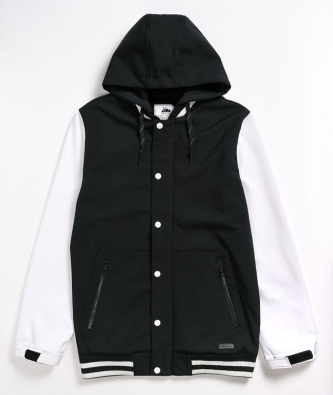 Empyre Lily Express Black & White 10K Snowboard Jacket