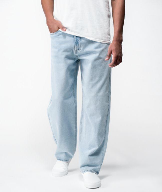 Empyre Loose Fit Light Wash Denim Skate Jeans